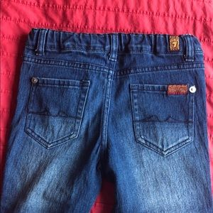 7 for all mankind girls skinny jeans excellent!